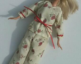 Barbie Pajamas - Yellow