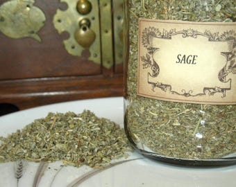 Sage Herb~Purification~Protection~Planet Jupiter~Element of Air