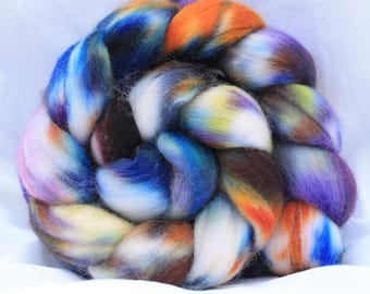 Hand painted polworth 4 oz 115 grams #16