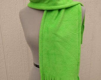 Mint Green Fleece Scarf