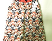 GAZELLE Dress - Diggers Girl Dress - Baby Dress - Toddler Dress - Girls - Gazelle Girls Dress - Back to School