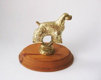 Vintage Dog Trophy Topper