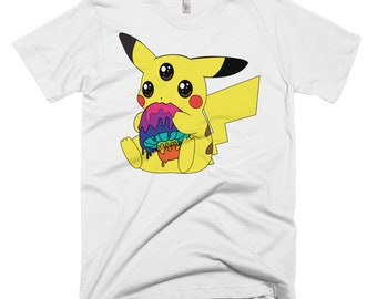 Trippikachu Short-Sleeve Men's T-Shirt