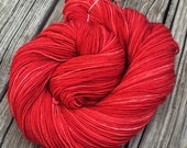 Hand Dyed Sock Yarn Capta...