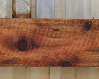 "Box Shelf - 60"" LONG x 9"" DEEP x 4"" TALL - Floating Wood Shelf - Rustic Wall Shelving - Wooden"