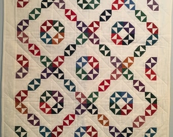 Circling Geese Baby Quilt