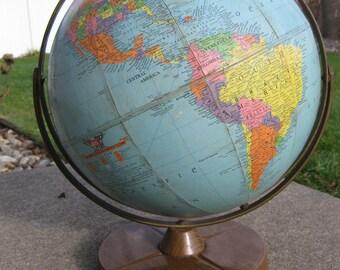 "Replogle 12"" Reference Globe 1958"