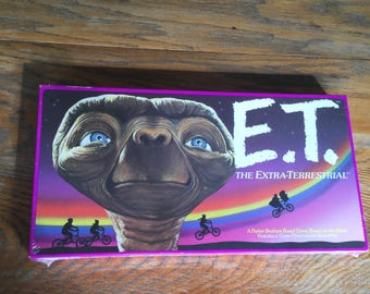 Vintage 1982 E.T. The Extra Terrestrial Board Game-Never Opened Still Sealed, Collectible Game, 80s Toys, Movie Toys