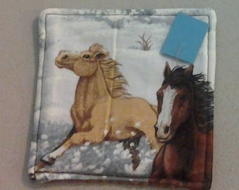 Coaster, Horses in the Snow 234507