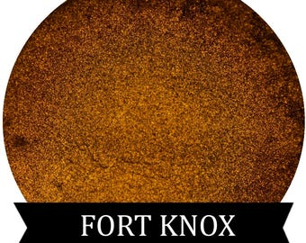 Metallic Gold Eyeshadow FORT KNOX
