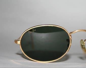 Vintage Ray Ban Sunglasses B&L Oval Rare G15