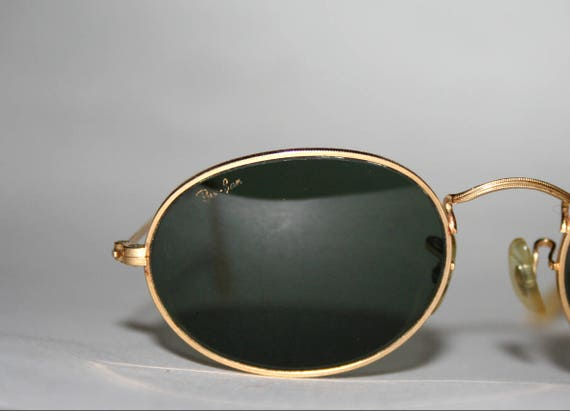 Vintage Ray Ban Sunglasses B&L Oval Rare G15