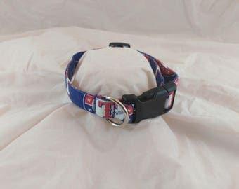 Texas Rangers Collar,Collier de chien, collar de perro,