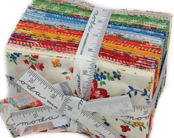 Spring A Ling 34 Fat Eighth Bundle by American Jane for Moda Fabrics 21710F8
