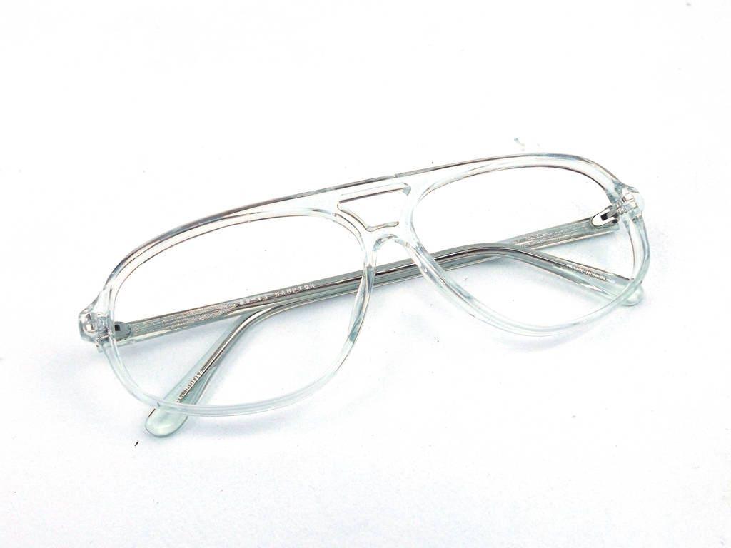 Plastic Aviator Eyeglasses   Louisiana Bucket Brigade