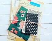 Large Paper Pack / Vintage & New / 40 Pieces / DIY Kit / Vintage Ephemera / Paper Ephemera