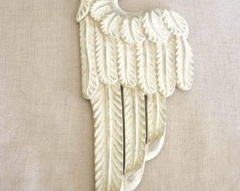 Medallion, 3 D, Relief, Angel Wing, Art Supplies, Craft Supply, Assemblage, Architectural Detail, Wings, 3 Dimensional, Sculptural