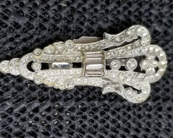Vintage 1930s Dress Fur Clip