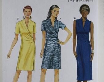 ON SALE Butterick 5849, Misses' Dress Sewing Pattern, Misses' Patterns, Sewing Pattern, Misses' Size 6, 8, 10, 12, 14, New and Uncut