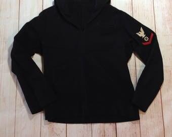 Vintage Navy Sailor Cracker Jack Uniform Shirt