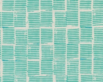 Cotton and Steel Sienna Hearth Ocean Fabric by the Half Yard