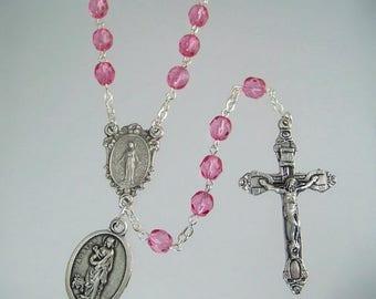 Saint Agatha Rosary Patron Saint of Breast Cancer