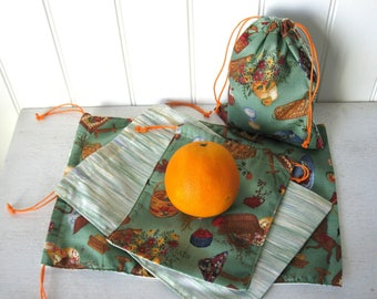 Bulk Bag # SV15, reusable cotton bag for zero waste bag purchase