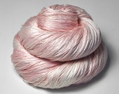 Miss Piggy's big entrance OOAK - Silk Lace Yarn - Hand Dyed Yarn - handgefärbte Wolle - DyeForYarn