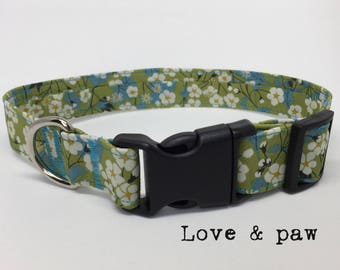 Handmade Liberty of London Mitsi fabric collar