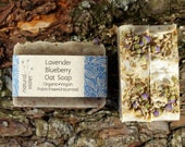 Lavender Soap - Blueberry Soap - Organic Soap - Vegan Soap - Zero Waste - Unscented Soap - Herbal Soap - Natural Soap - Handmade Soap