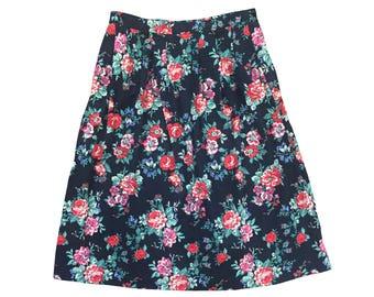 Rosewood Midi Skirt
