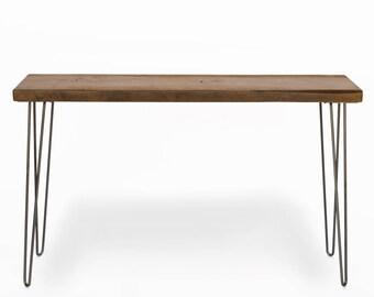 Narrow console table Etsy