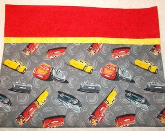 Disney Cars 3 Full Size Pillow Case