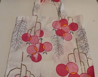 ON SALE Handmade Vintage Japanese Kimono Tote Bag