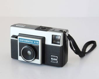 Kodak Instamatic X-15 Film Cassette Camera