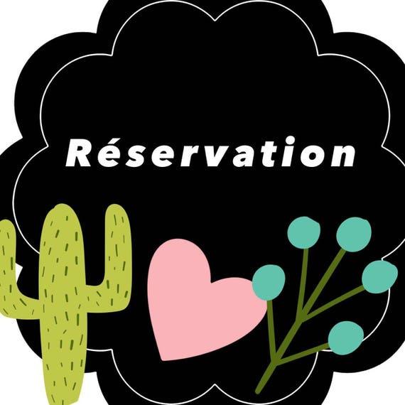 Réservation LIQUIDATION 1 paire