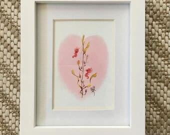 Mini Smitten Seahorsies print