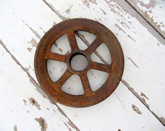 Industrial Iron Pulley Wheel