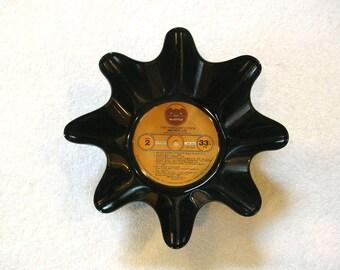 Todd Rundgren and Utopia Record Bowl Made From Vinyl Album
