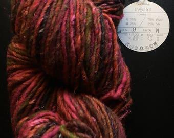 Noro Iro Yarn - Discontinued - Yarn Destash - Color 9, Lot M - Wool, Silk Natural Fiber Yarn