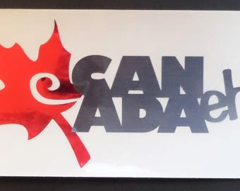 Canada Decal Etsy - Vinyl decal stickers canada