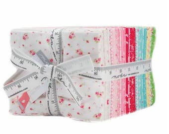 Preorder FIRST ROMANCE fat quarter manufacturer bundle by Kristyne Czepuryk for Moda - complete 37 pieces presale