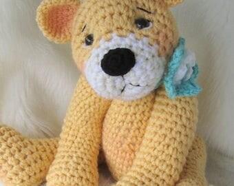 Summer Sale Crochet Pattern Favorite Teddy Bear by Teri Crews instant download PDF format Crochet Toy Pattern