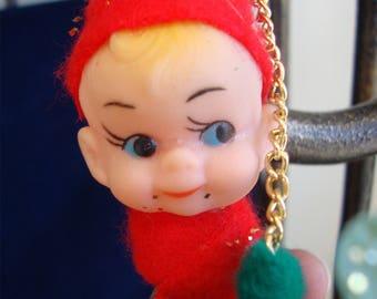 Vintage Pixie Elf Christmas Windchimes