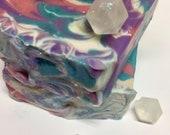 Handmade soap, decorative bar soap, cold process soap, flowering forest bar soap, homemade bar soaps, homemade soaps
