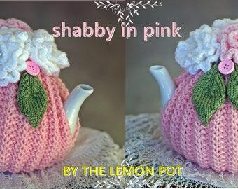 hand knitt ed tea cosy