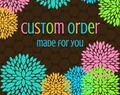 Custom Order for Bill
