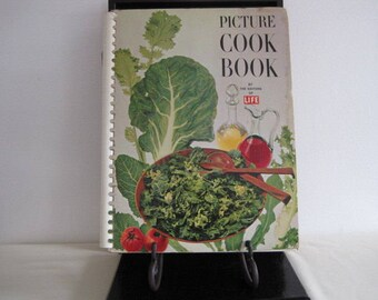vintage book - Picture Cookbook by Life magazine - copyrighted 1958