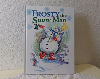 Frosty The Snow Man Children's Book, Hardcover, Like New Condition, 1997