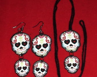 Halloween, Quilted Skull Set (HSS03)
